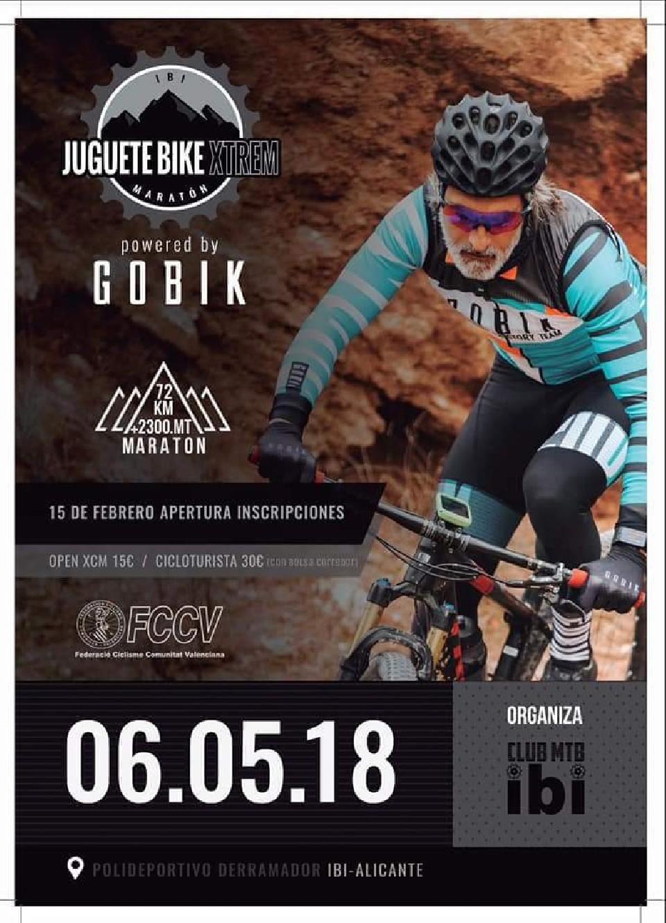 Maratón/Open Juguete Bike Xtrem Ibi