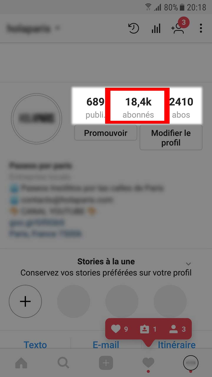 mettre un lien en story instagram