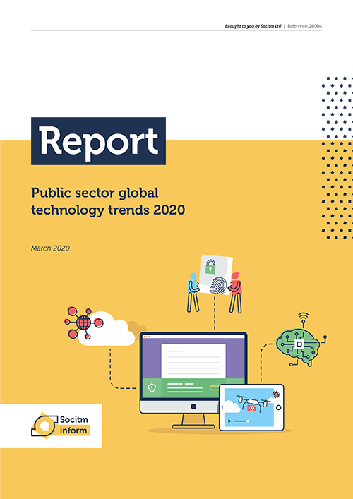 Public sector global technology trends 2020