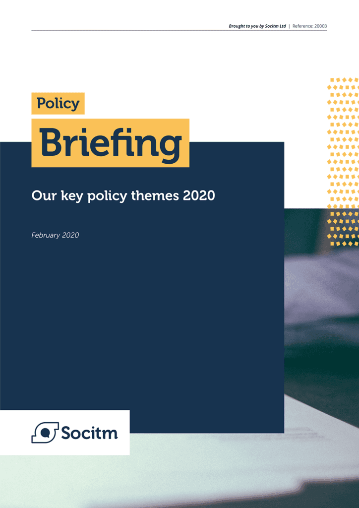 Our key policy themes 2020