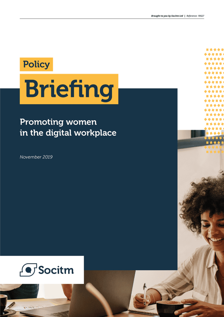 Socitm Inform policy briefing: Promoting women in the digital workplace