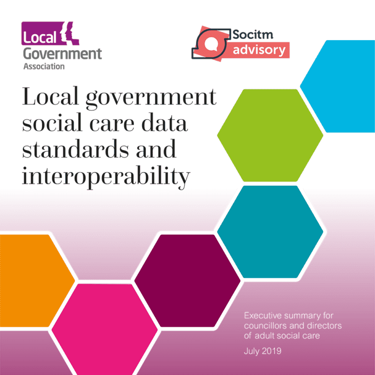 Social care standards and interoperability - executive summary