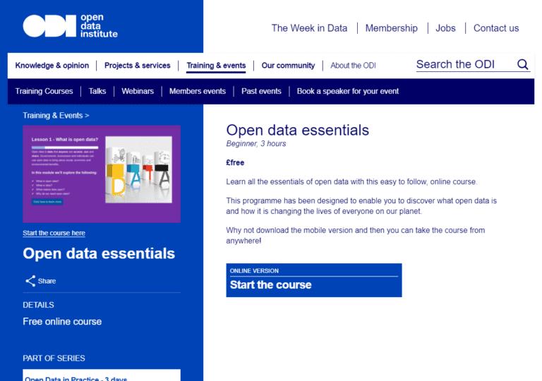 theodi.org screenshot