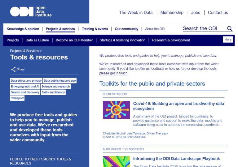 theordi.org screenshot
