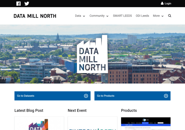 datamillnorth.org screenshot