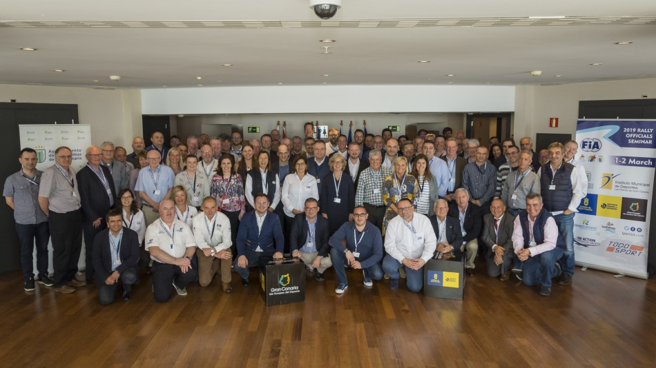 ERC organisers attend successful FIA Rally Officials' Seminar