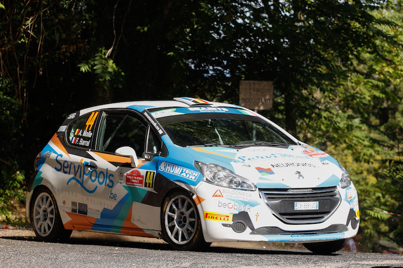 Quads, buggies and now cars: ERC Junior Molle's gravel debut day gets close