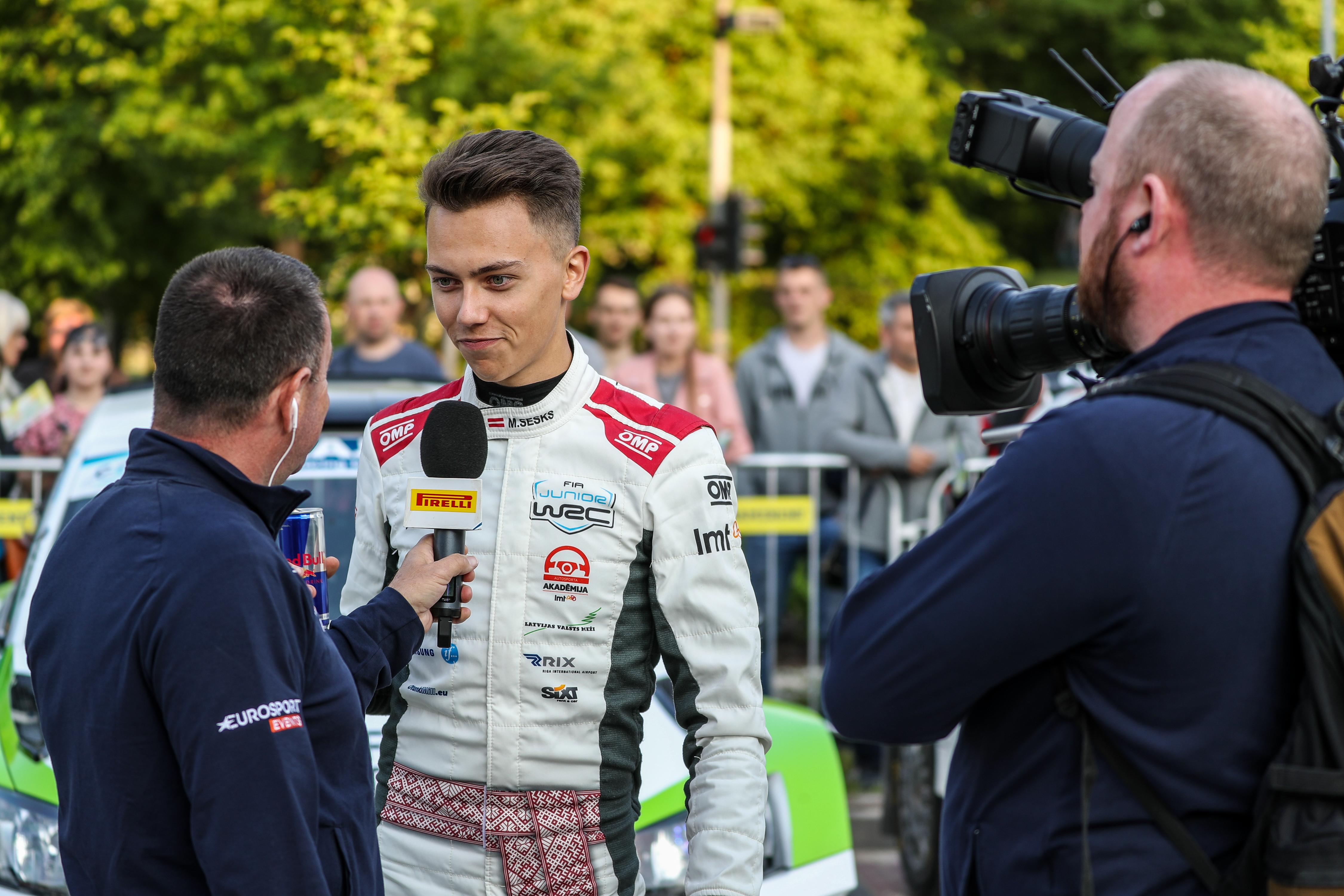 Interview ERC: Martiņs Sesks