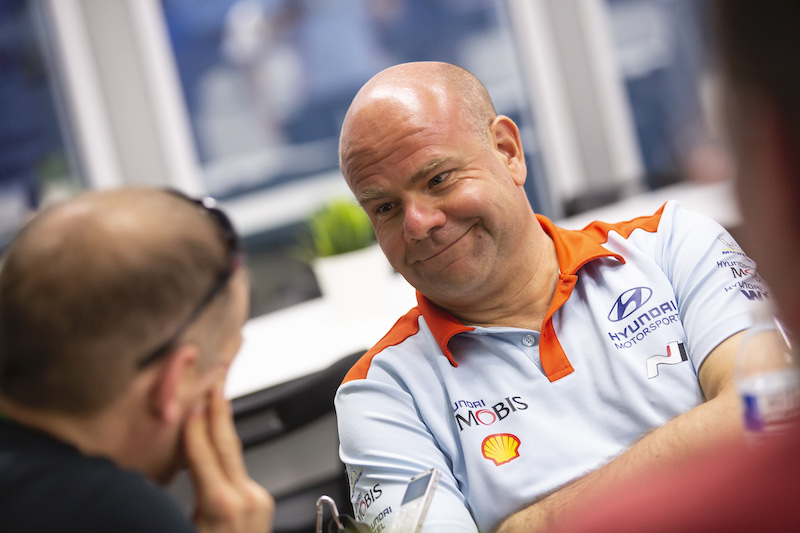 Words of praise from Hyundai Motorsport head Adamo following ERC opener