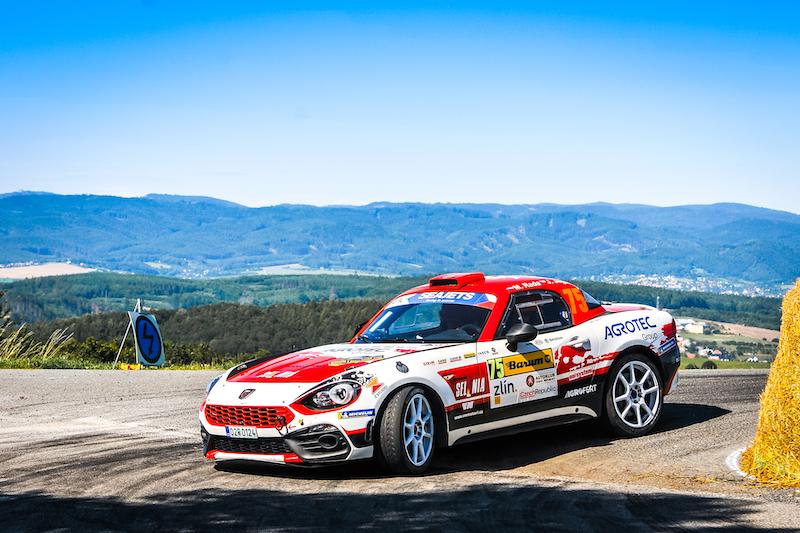 Rada va faire ses débuts dans l'Abarth Rally Cup de l'ERC au Rallye de Liepaja