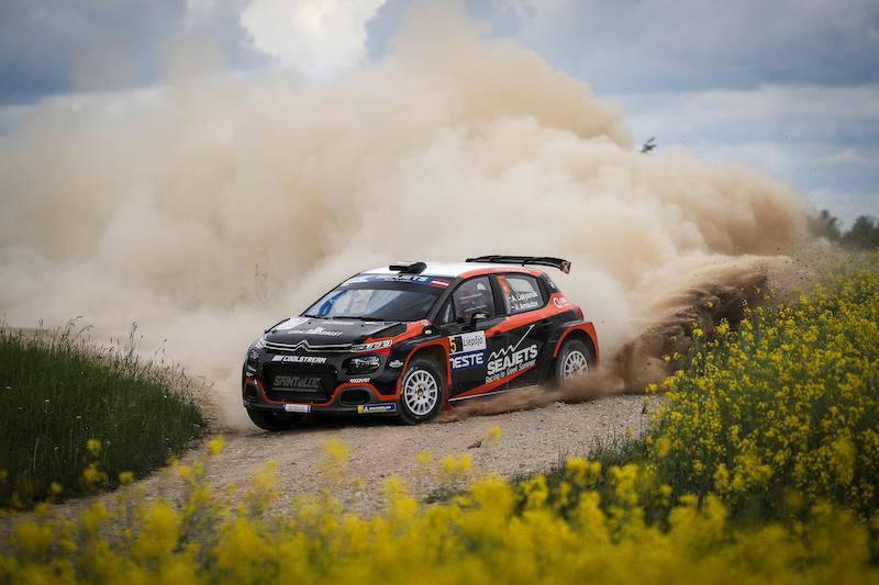 Présentation ERC: Rallye de Liepaja