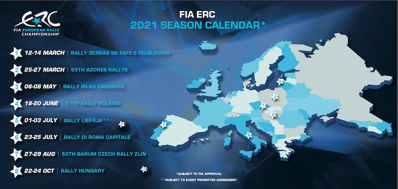 FIA European Rally Championship: Temporada 2020 - Página 11 ERC-2021-provisional-calendar-graphic
