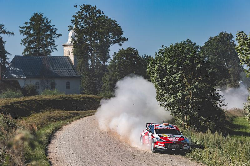 Cartina Michelin Roma.Rally Liepaja 2021 Fia Erc European Rally Championship