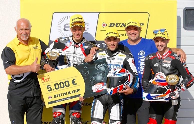Moto Ain CRT, vainqueur du EWC Dunlop Independent Trophy