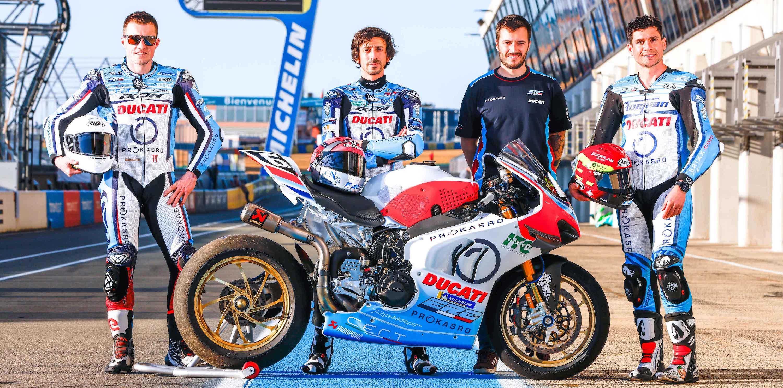ERC Endurance Ducati