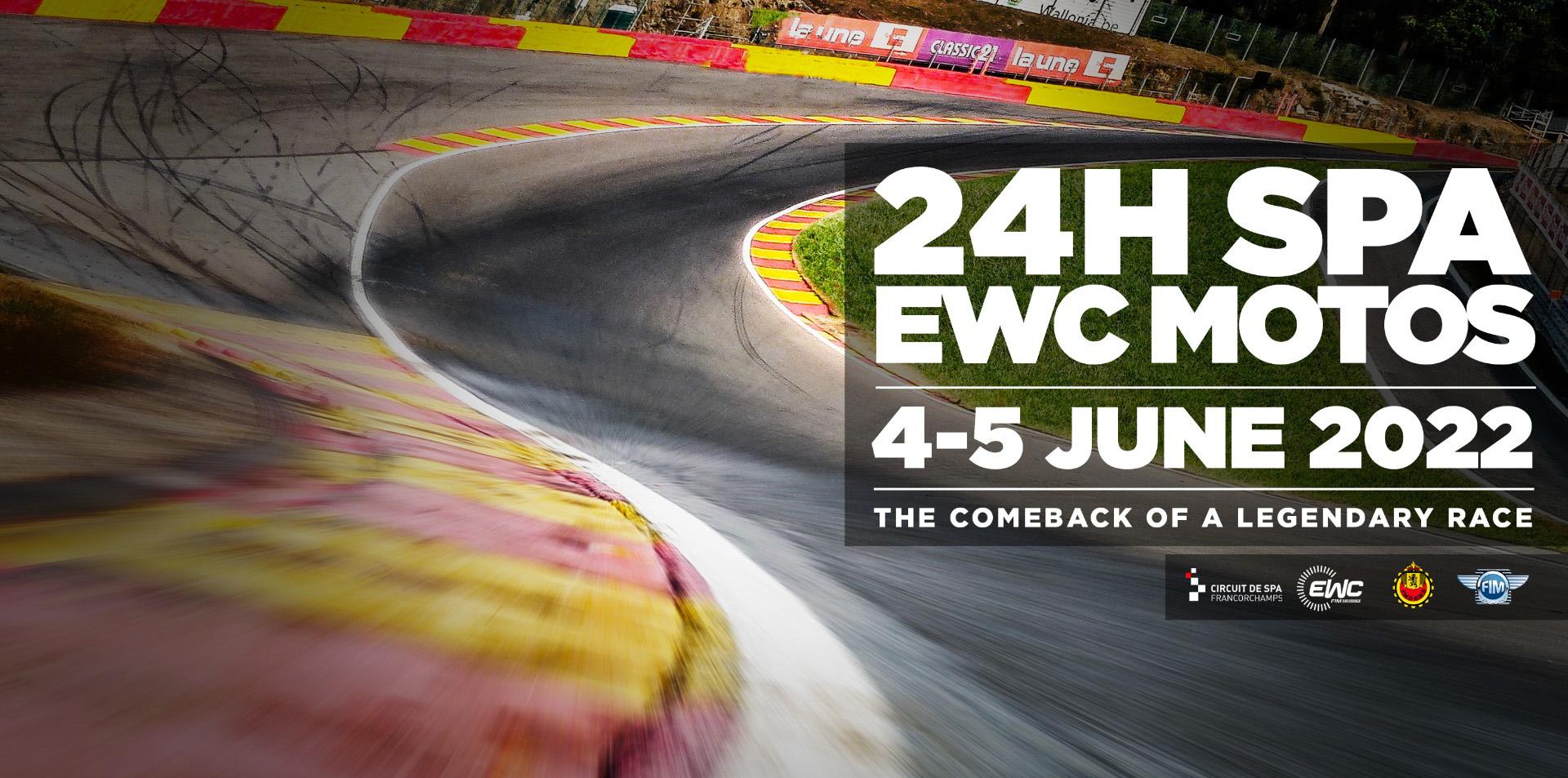 24H SPA EWC Motos 2022