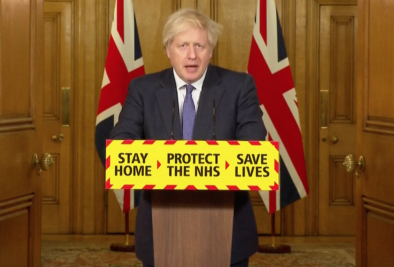 1 in 20 now vaccinated across UK, says Boris Johnson as 3.2m get jab
