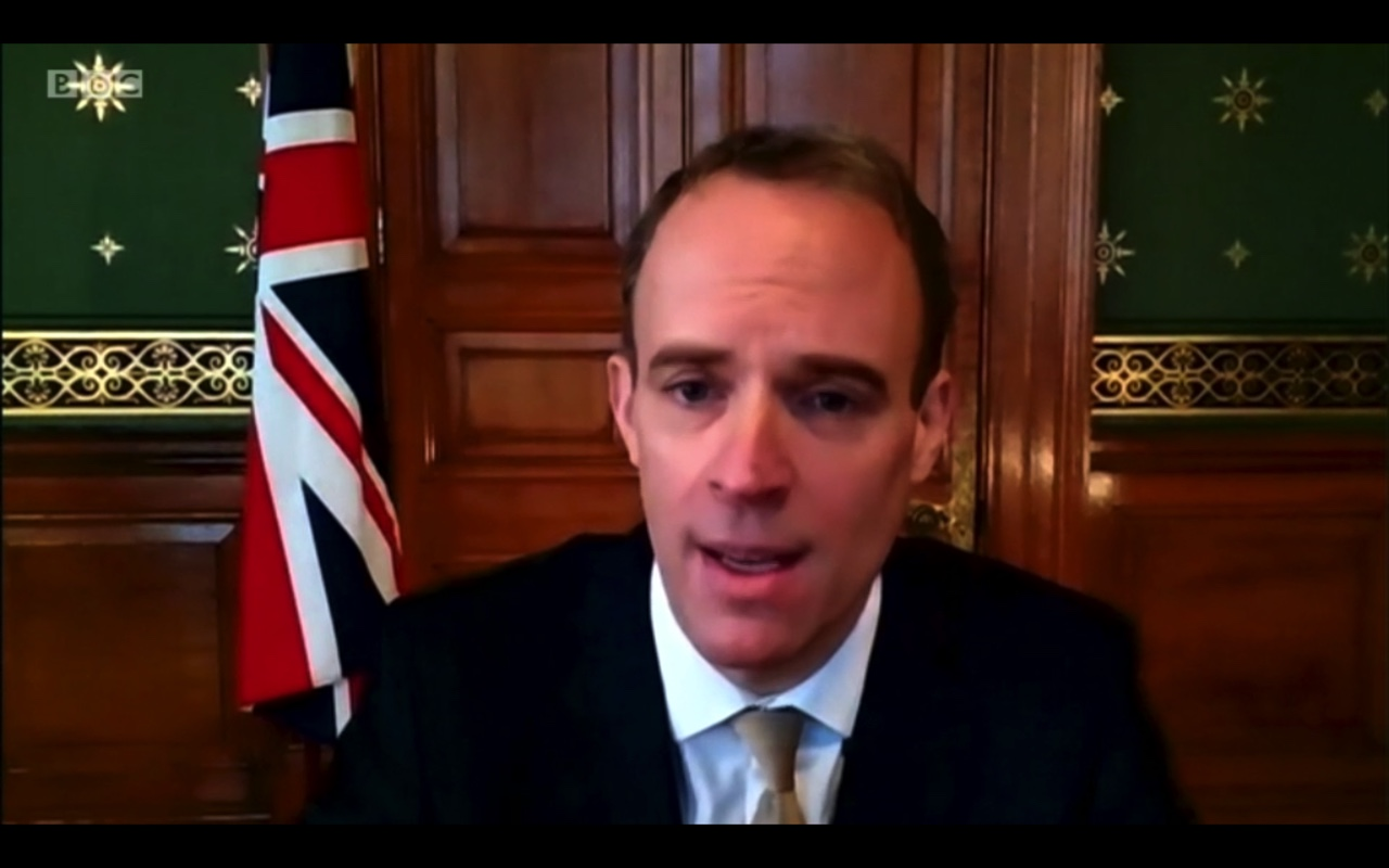 Brexit news live: Latest updates as Raab defends EU trade deal