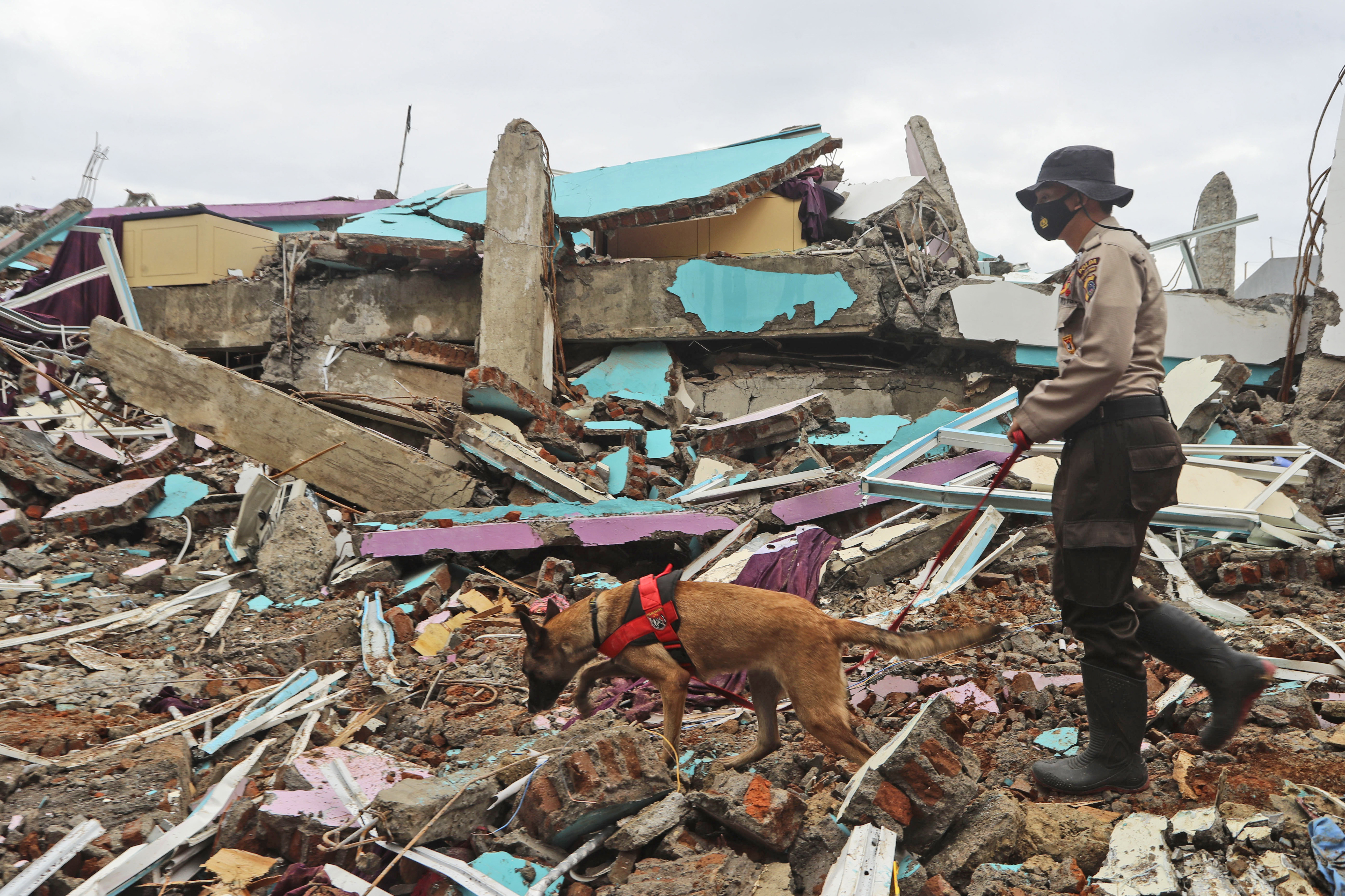 Indonesia earthquake: Rescue teams uncover more bodies after 6.2-magnitude disaster
