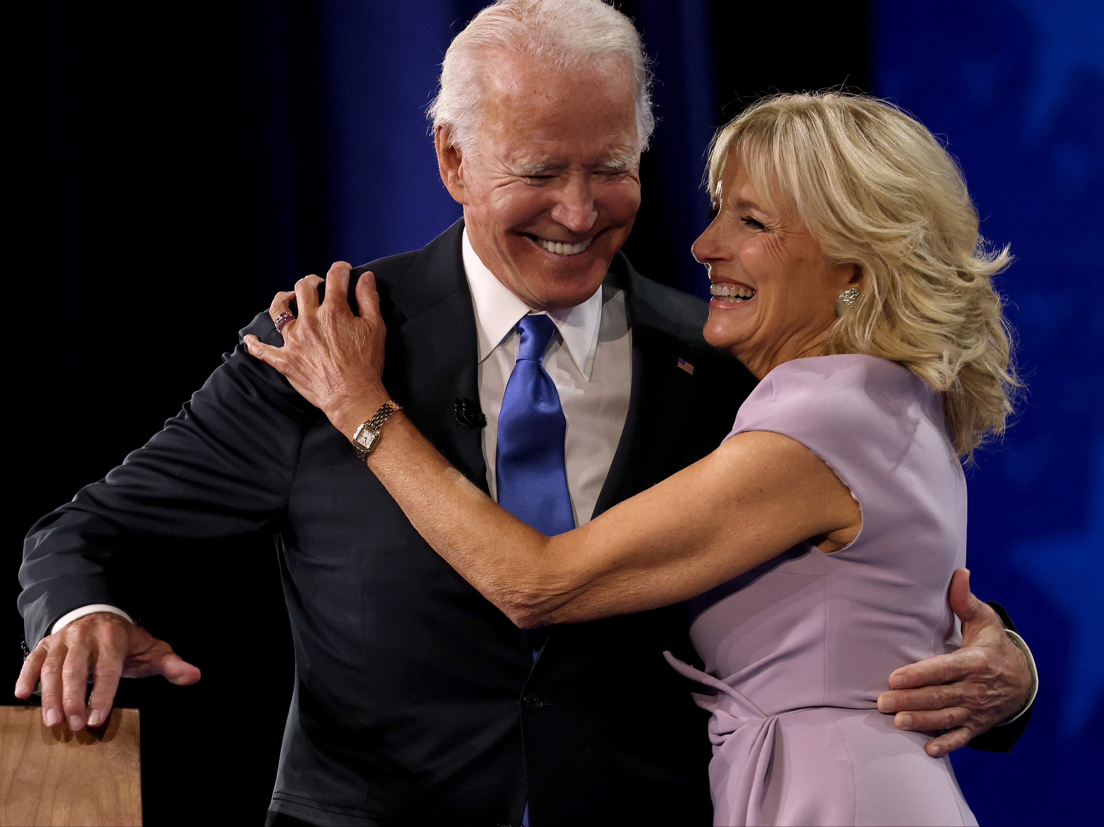 'We're filled with hope': Bidens open inauguration events with message of positivity after Capitol violence