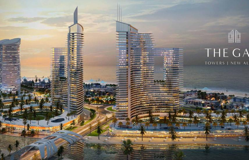 Apartment 198㎡ For Sale in The Gate Towers