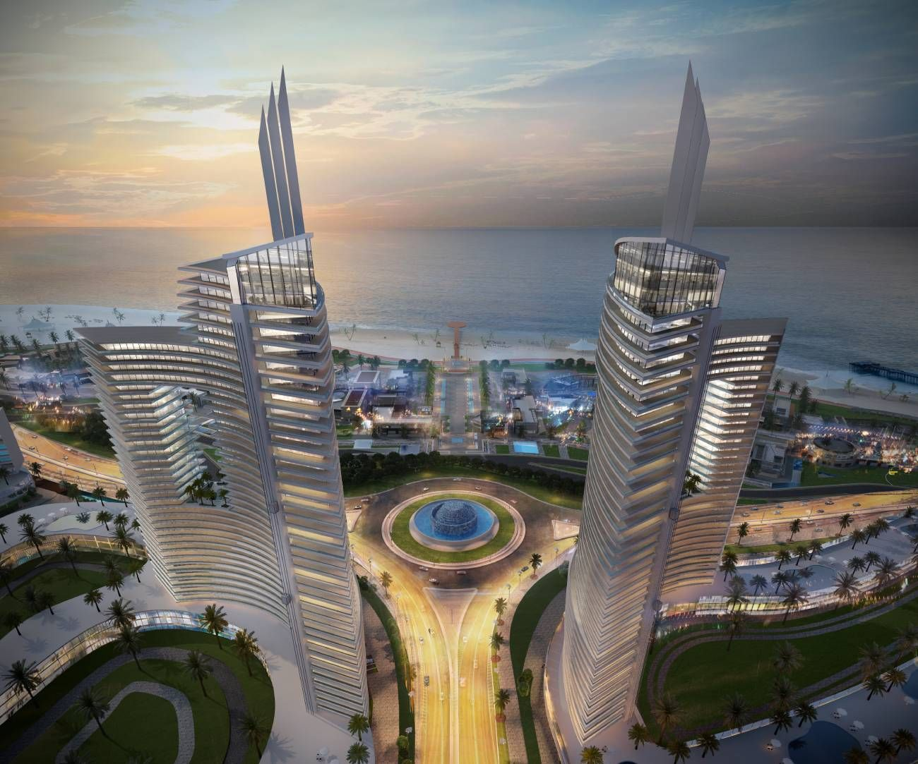 Apartment 136㎡ For Sale in The Gate Towers