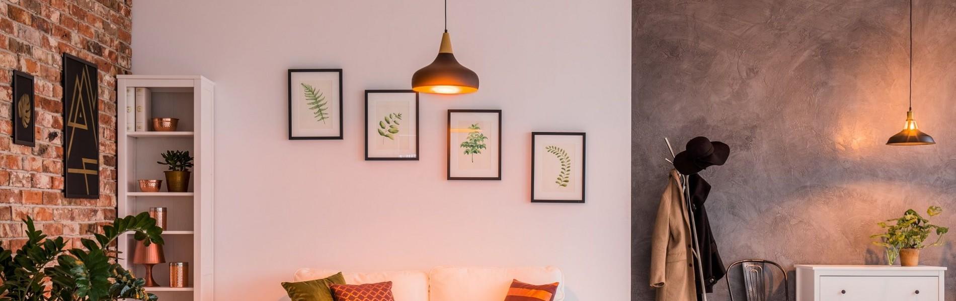 Coup de projecteur sur le luminaire : OK Service fixe et installe toutes vos lampes!