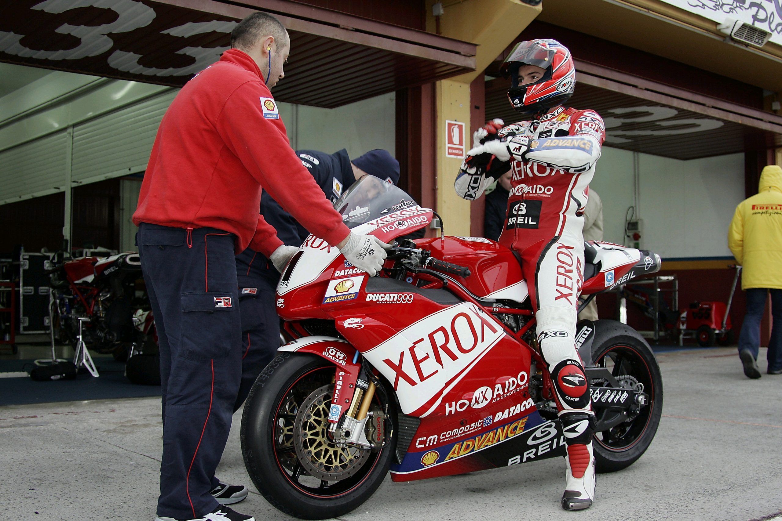 OM Ducati superbike sponsorship