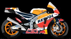 honda motoGP sponsorship