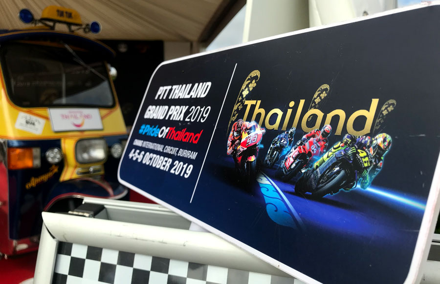 thailand silverstone motoGP sponsorship