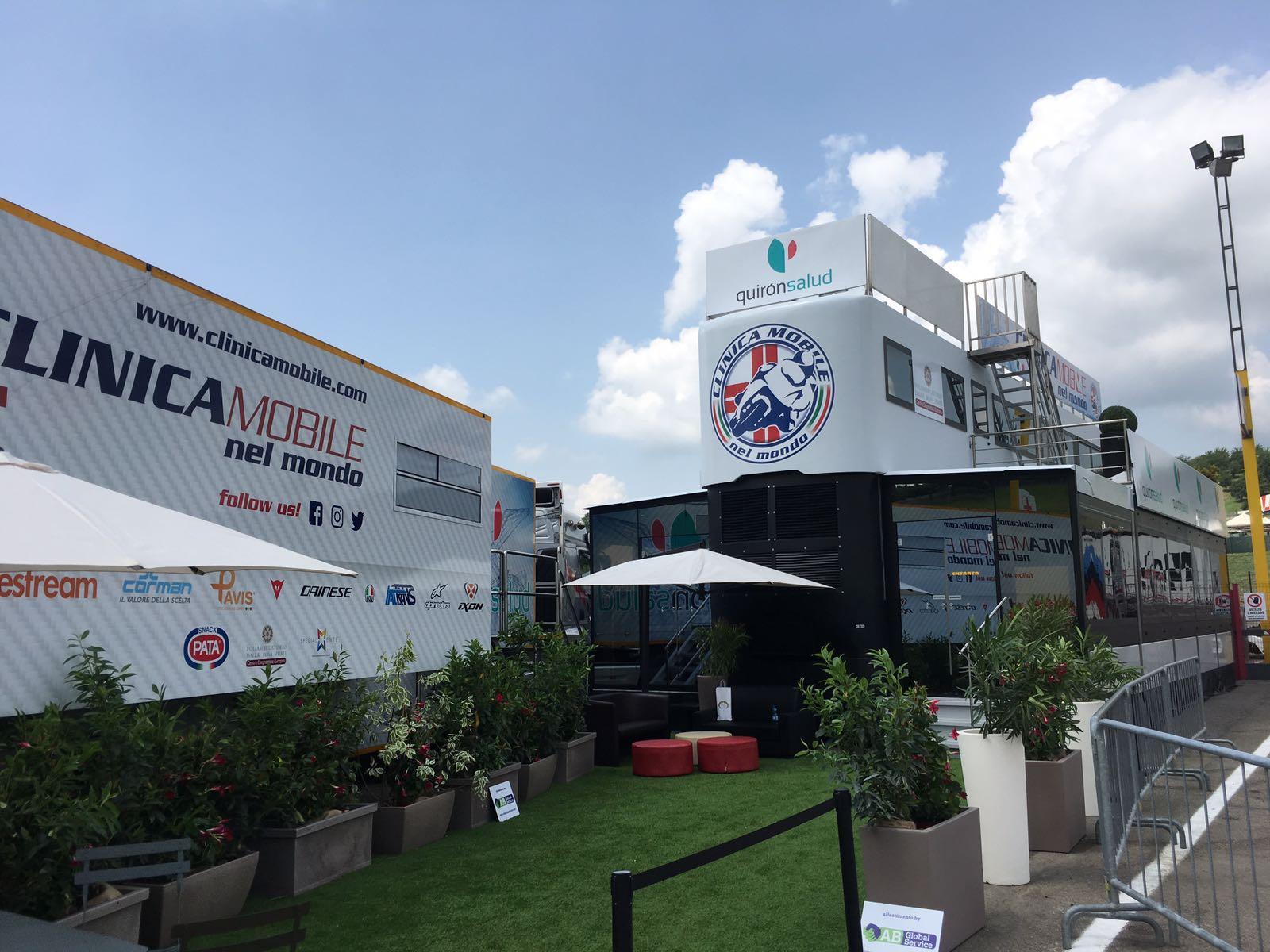 MotoGP Sponsorship: Corman X Clinica Mobile 2021