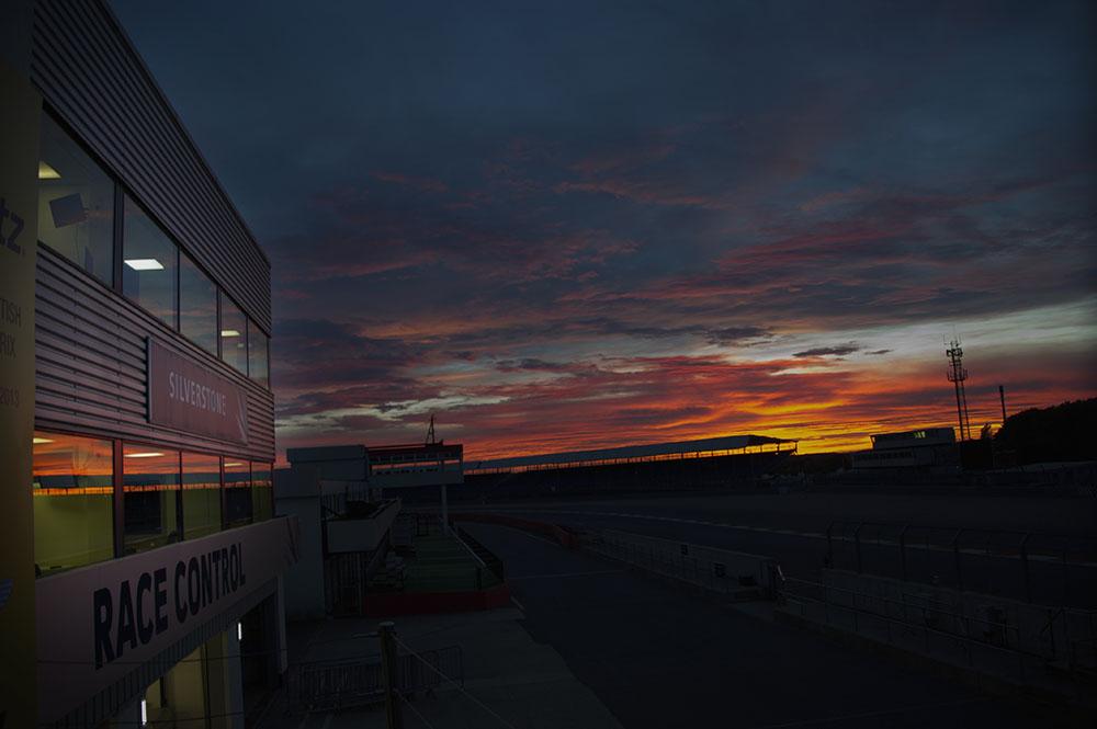 BritishGP2013_sunset