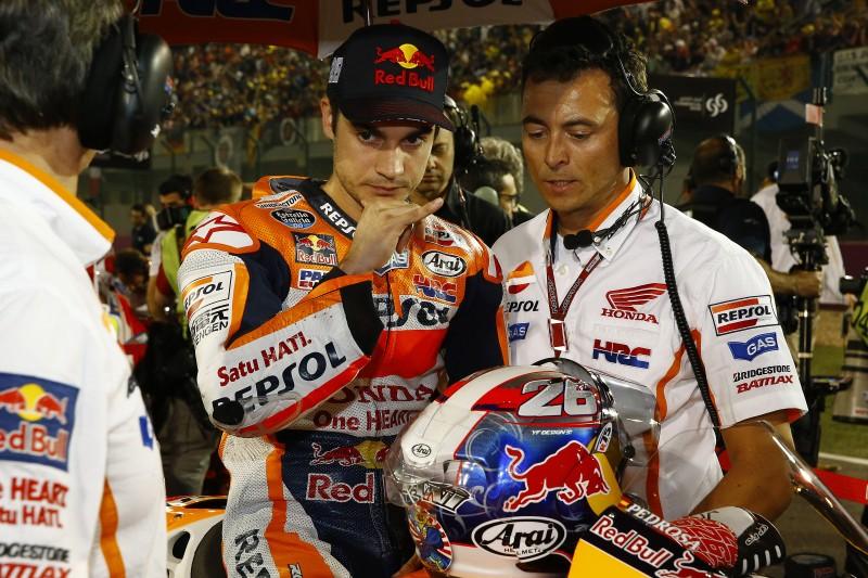 dani pedrosa of Repsol Honda and Spain MotoGP