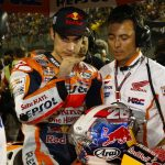 dani pedrosa of Repsol Honda and Spain MotoGP