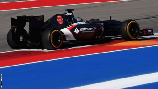 Sauber F1 driver Adrian Sutil