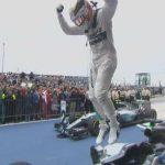 Jump off F1 car