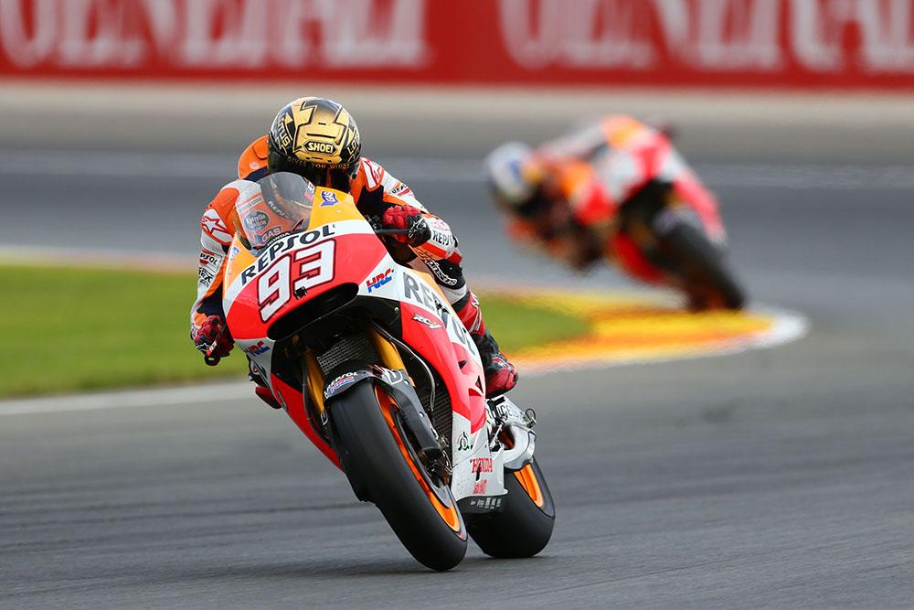 2014/11/09 - mgp - Round18 - Valencia - MotoGP - Marc Marquez - Repsol Honda - RC213V - Action