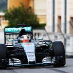 Formula One mercedes mclaren number 44