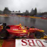 Race under the rain