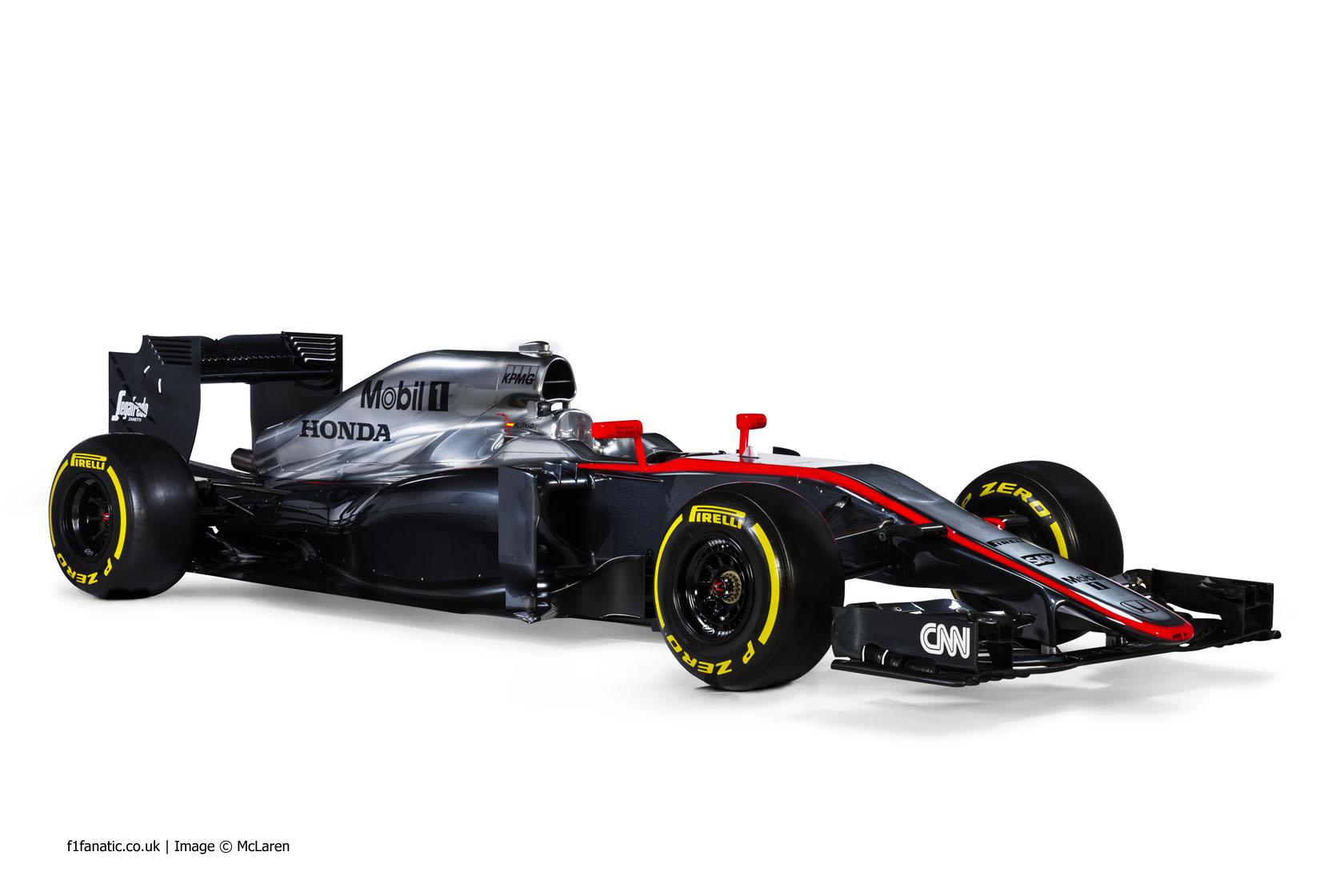 McLaren MP4-30, 2015