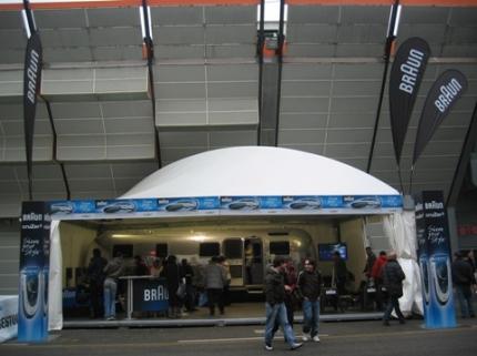 Stand Cruzer3 2007