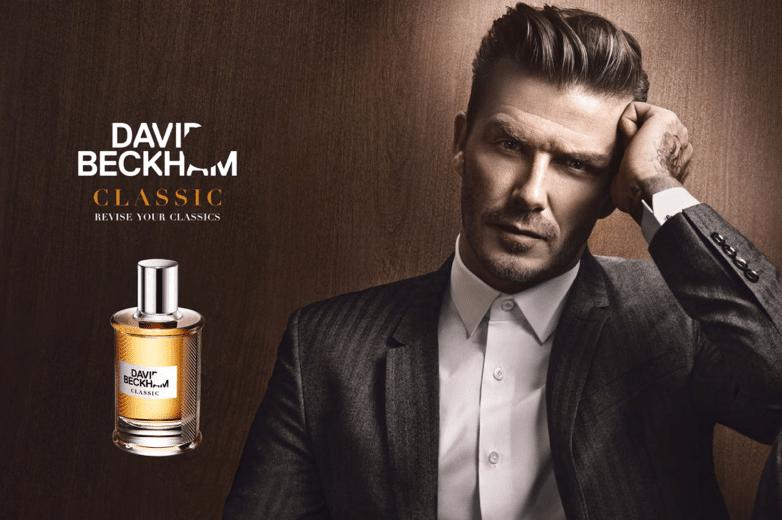 beckham perfume licensing