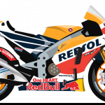 2018 repsol honda team bike
