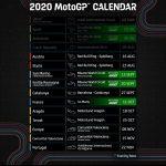 Motogp calendar 2020