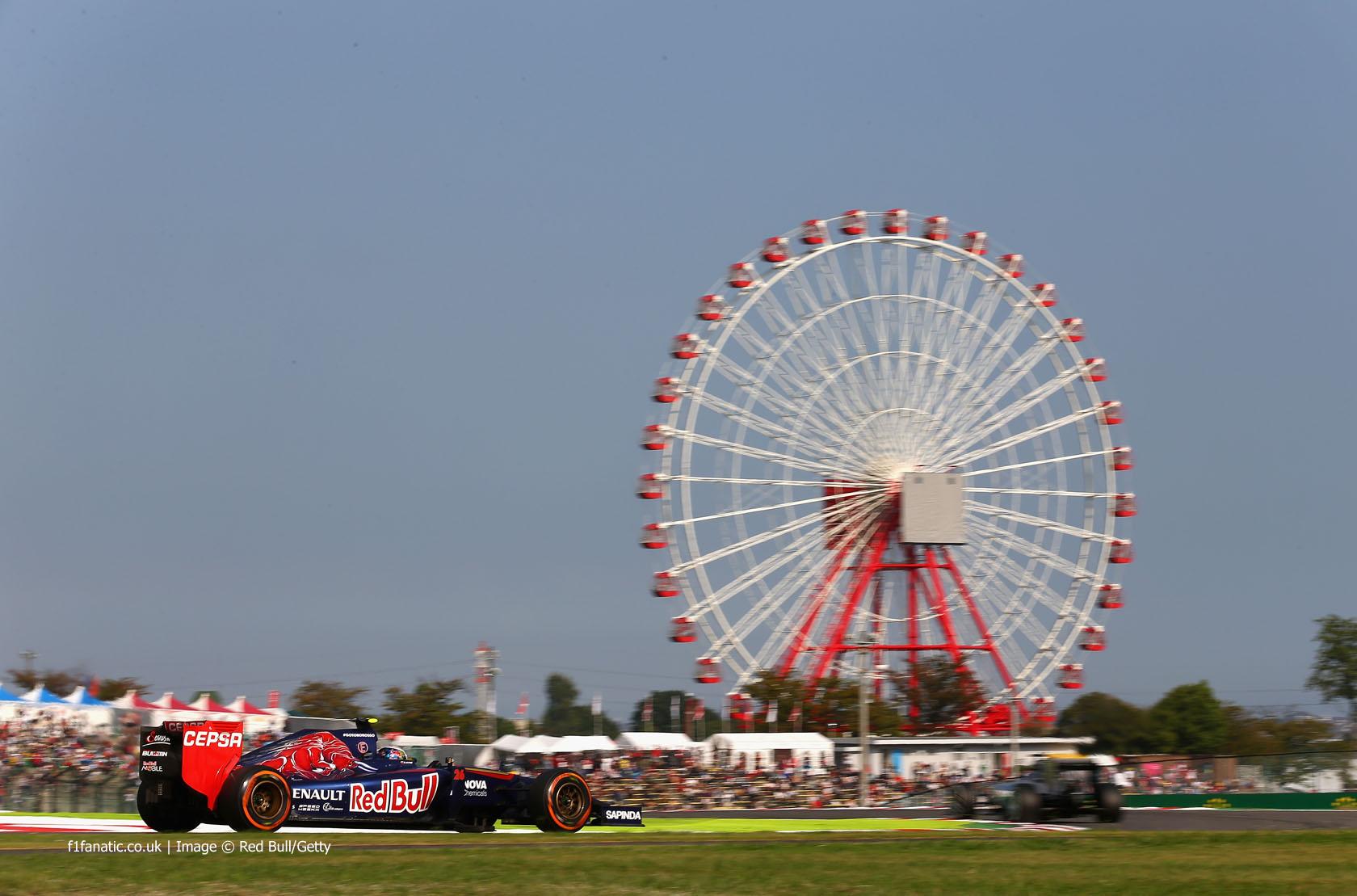 Daniil Kvyat, Toro Rosso, Suzuka, 2014