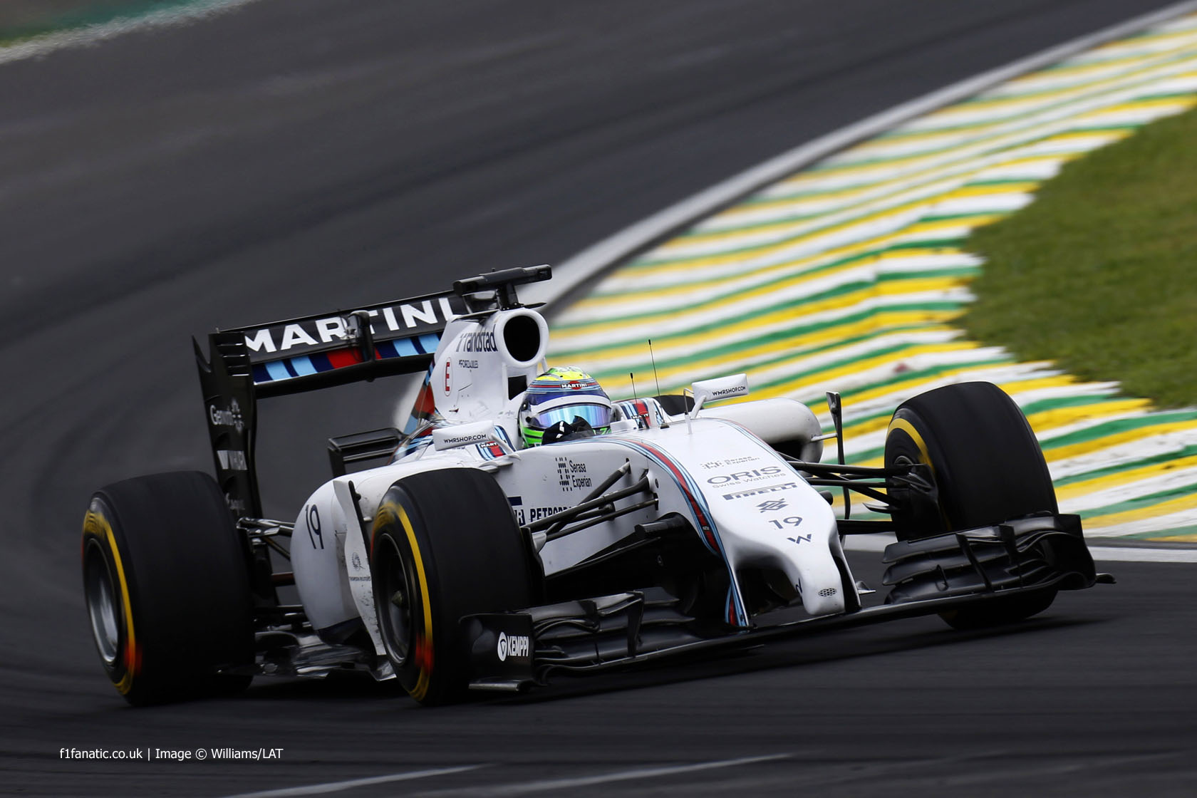 Felipe Massa, Williams, Interlagos, 2014
