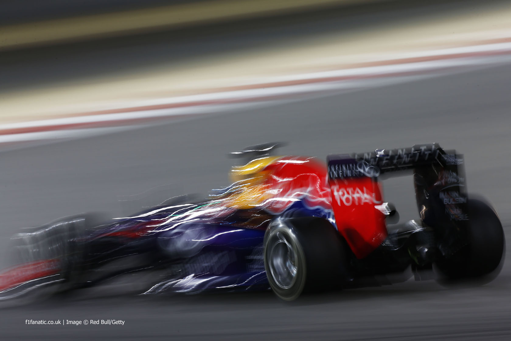 Sebastian Vettel, Red Bull, Bahrain International Circuit, 2014