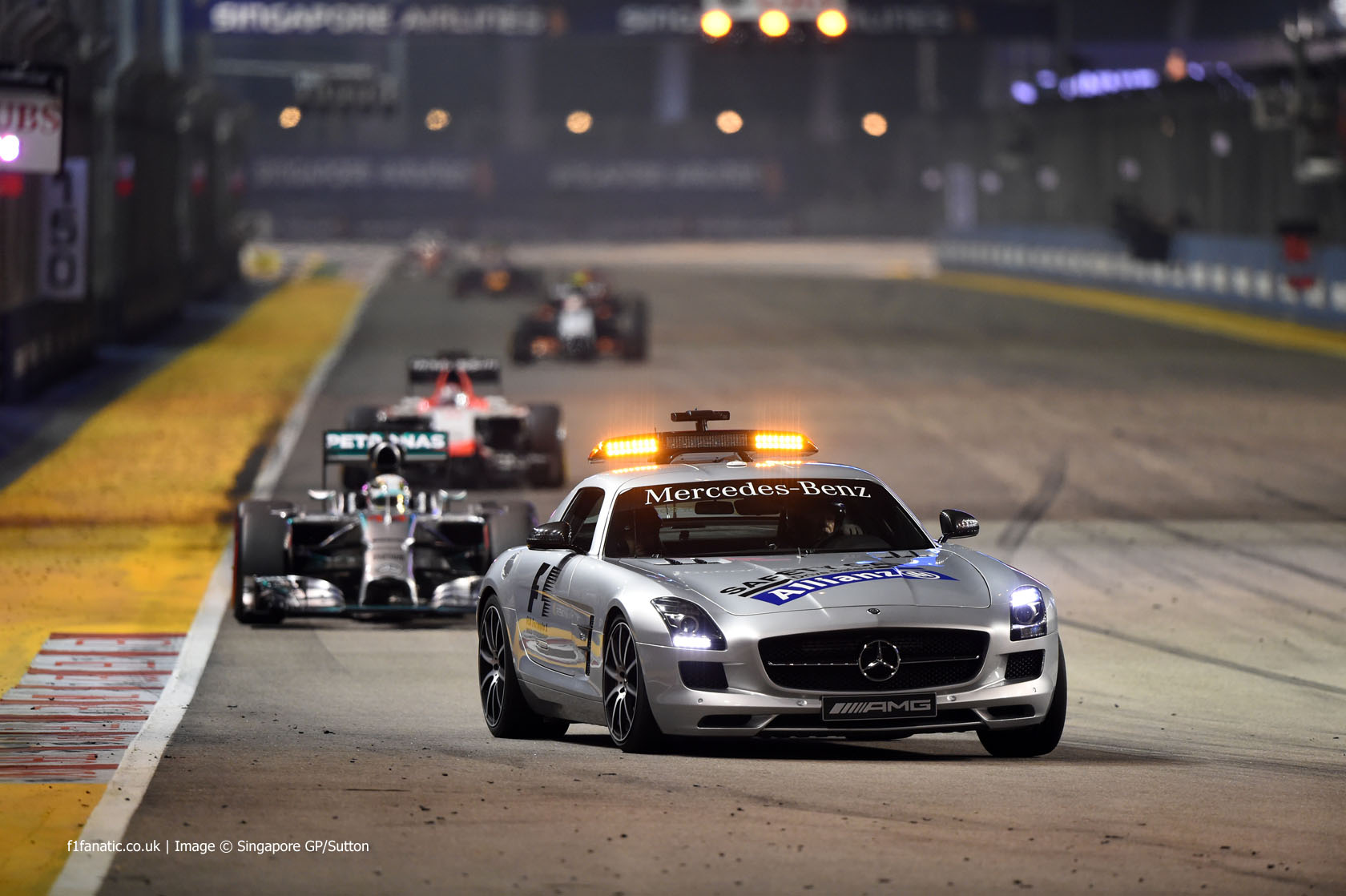 Safety Car, Singapore, 2014