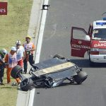Sergio perez crash