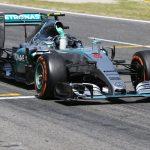 Mercedes mclaren F1 number 6